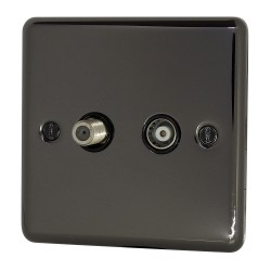 45A Cooker Switch Black...