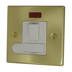 13A Fused Spur Switch Satin...
