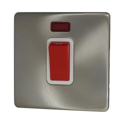 45A Cooker Switch Satin...