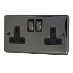 13A Fused Spur Switch Black...